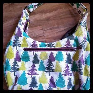 Kavu tree print crossbody purse